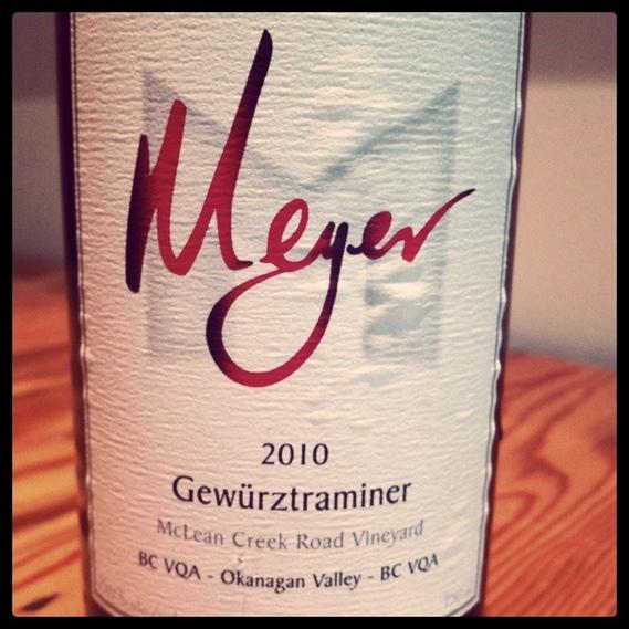 Meyer 2010 Gewürztraminer