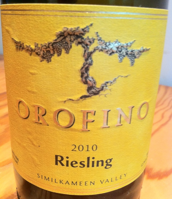 Orofino 2010 Riesling