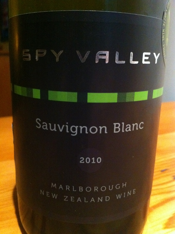 Spy Valley Marlborough Sauvignon Blanc 2010