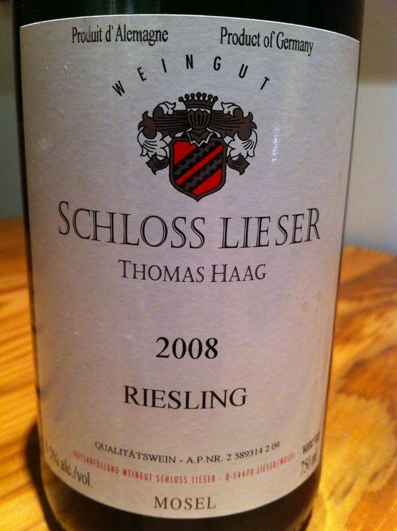 Schloss Liester 2008 Riesling