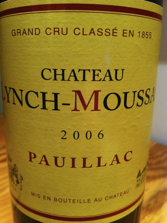 Chateau Lynch-Moussas 2006 Pauillac