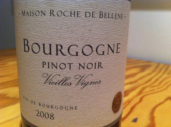 Maison Roche de Bellene Bourgogne Pinot Noir 2008