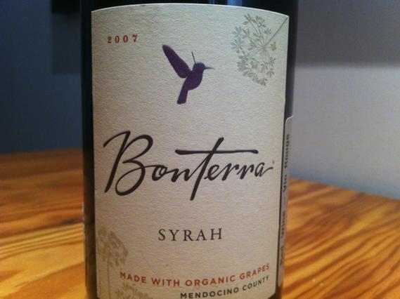 2007 Bonterra Syrah