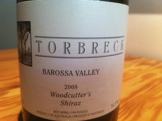 Torbreck Barossa Valley 2008 Woodcutter's Shiraz