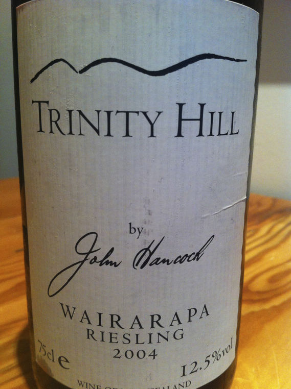 Trinity Hill Riesling 2004