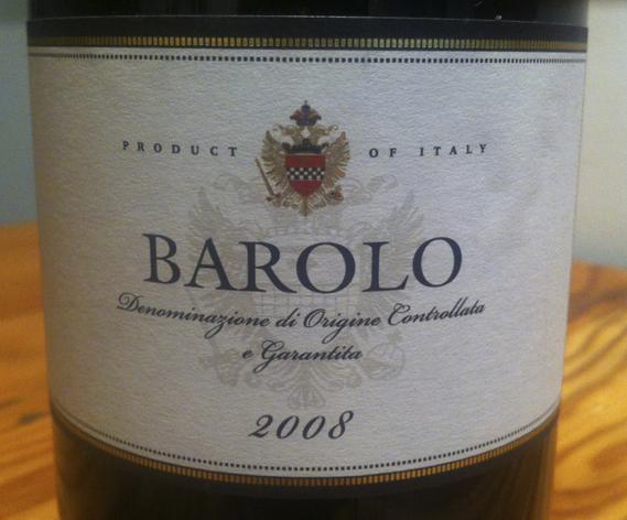 Ricossa Barolo 2008