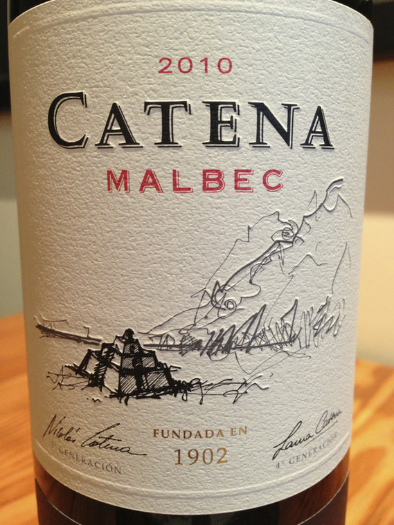 2010 Catena Malbec