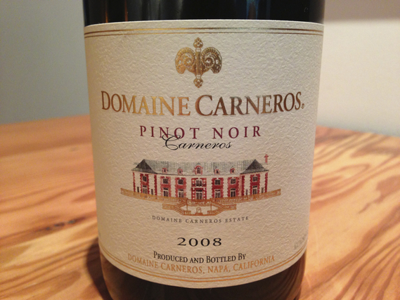 Domaine Carneros Pinot Noir 2008
