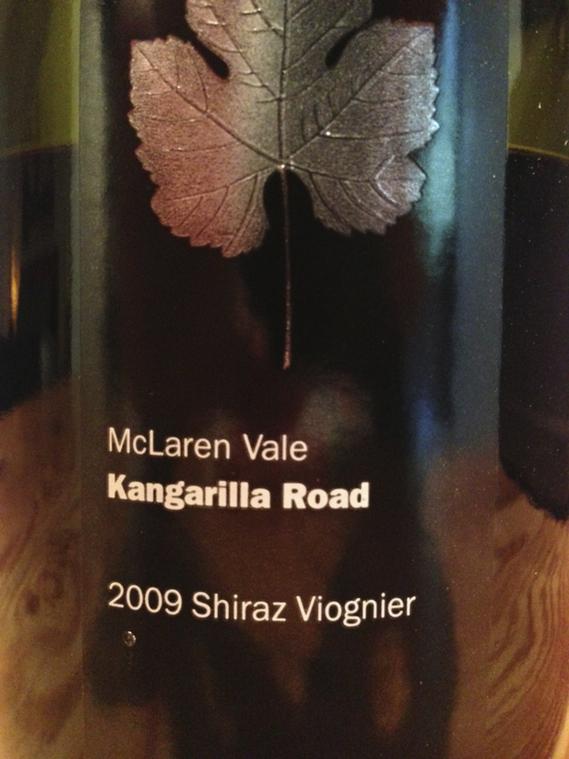 McLaren Vale Kangarilla Road 2009 Shiraz Viognier