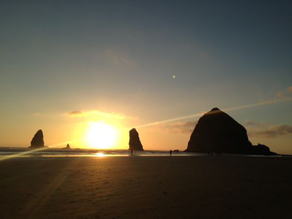 cannonsunset
